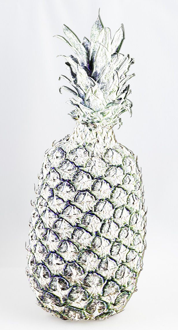 The SVD of a Pineapple