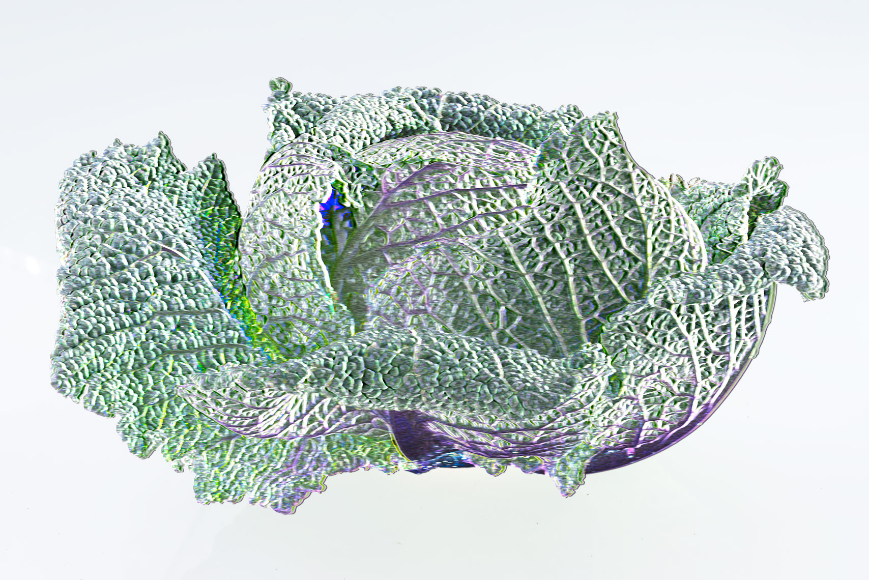 The SVD of a Savoy Cabbage